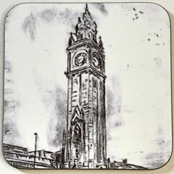 Albert Clock Coaster-66