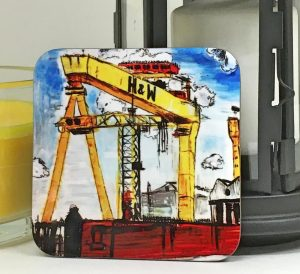 Harland & Wolff Crane Coaster-0
