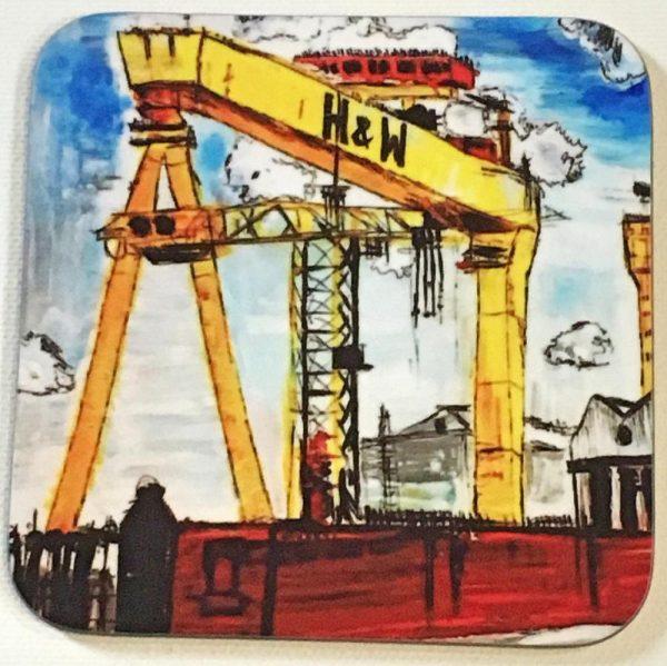 Harland & Wolff Crane Coaster-72