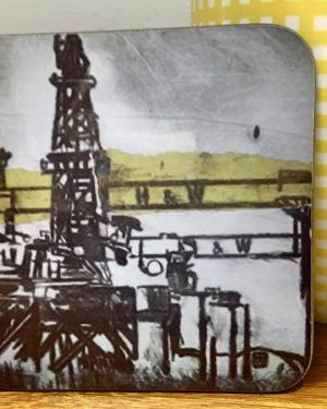 Harland & Wolff Oil Rig Coaster-0