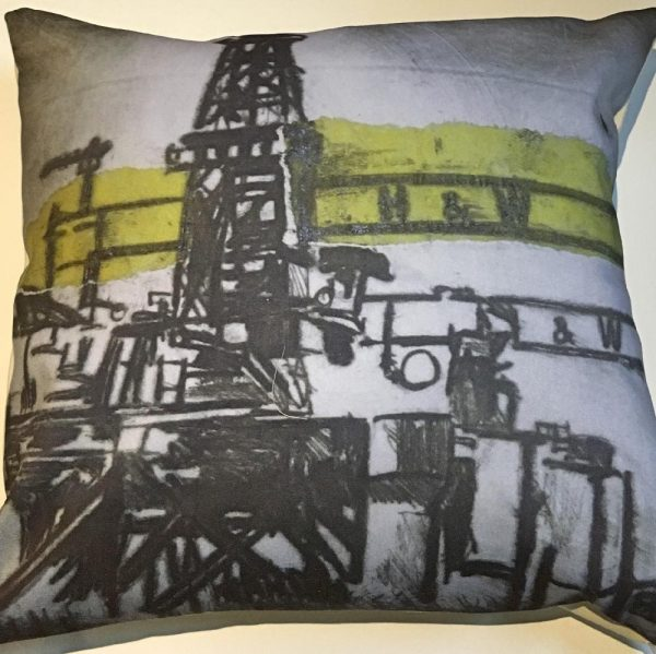 Harland & Wolff Rig Cushion-18
