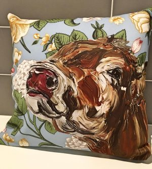 Jenny Cushion with Floral Background-0