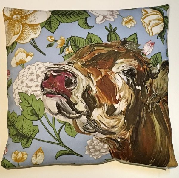 Jenny Cushion with Floral Background-17