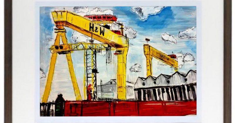 H&W Cranes Print