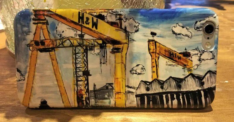 Harland & Wolff Cranes Phone Case