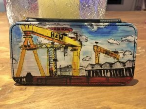 H&W Cranes Phone Flip Case-0