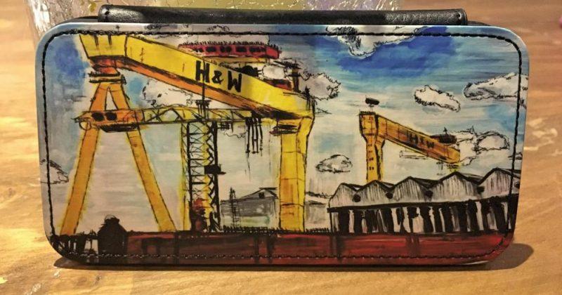 H&W Cranes Phone Flip Case