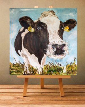 Mabel Print on Canvas - Unframed-0