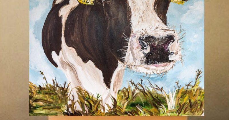 Mabel Print on Canvas – Unframed