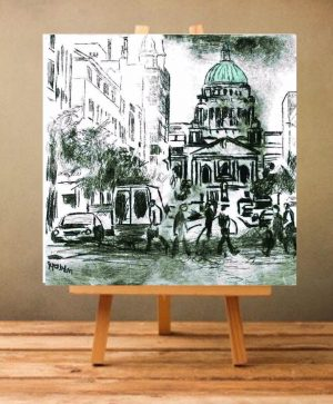 Belfast City Hall Print on Canvas - Unframed-0