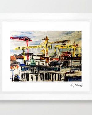Belfast Rooftops Print-0