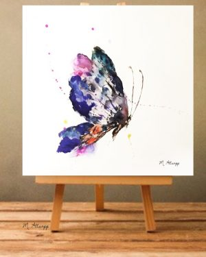 Butterfly Print on Canvas - Unframed-0
