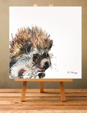 Spike Print on Canvas - Unframed-0