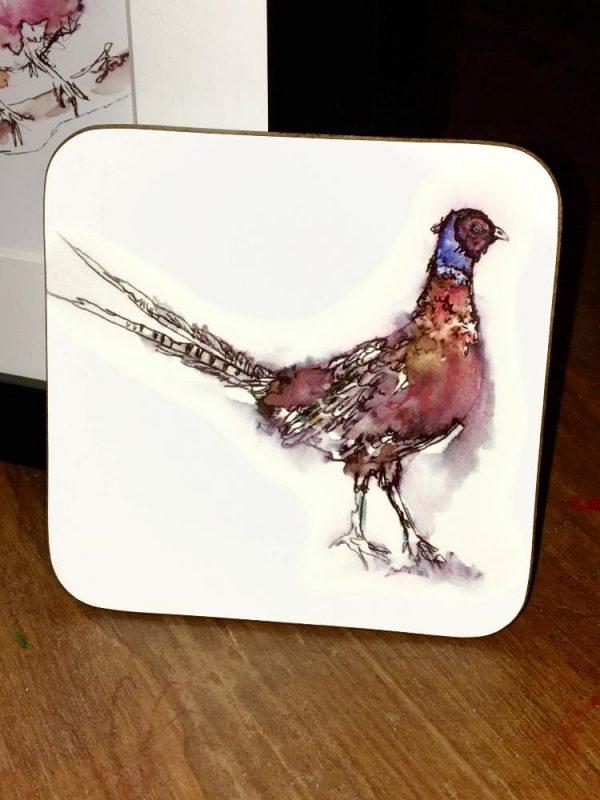 Pheasant Coaster-0