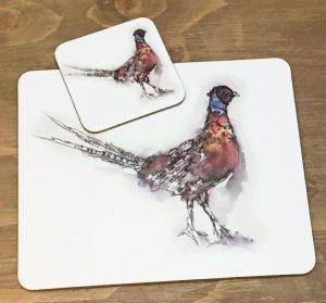 Pheasant Placemats-0