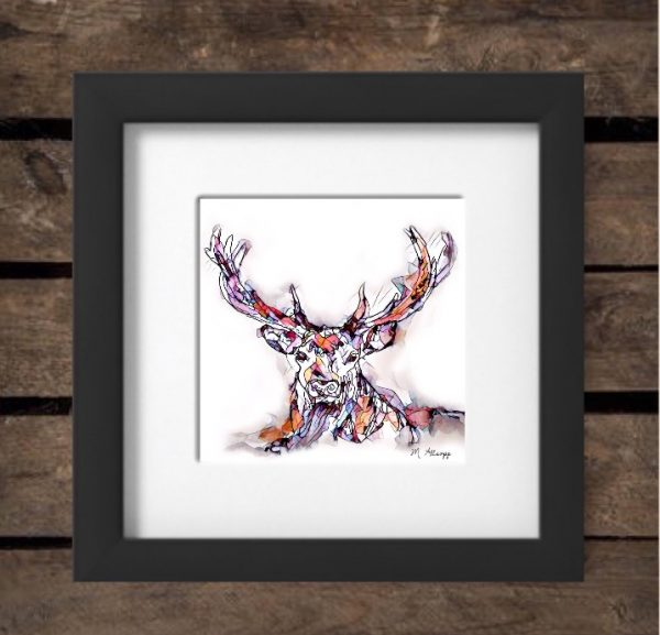 Reflections Print - Stag-0