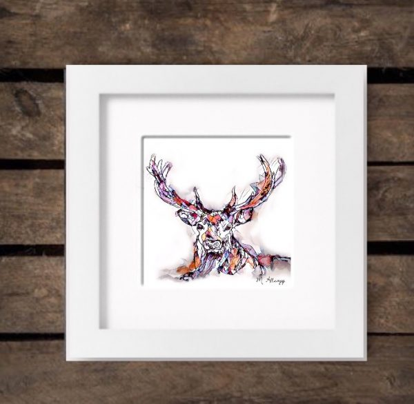 Reflections Print - Stag-583