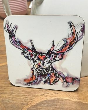 Stag Coaster-0