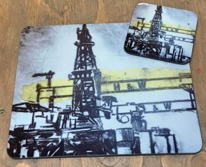 Harland & Wolff Oil Rigs Placemats-0