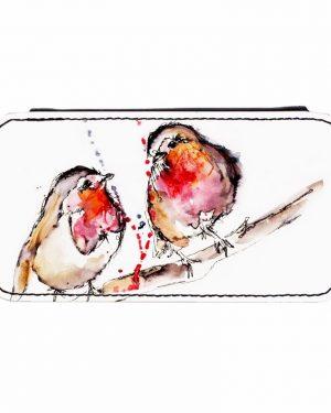Robins Phone Flip Case-0