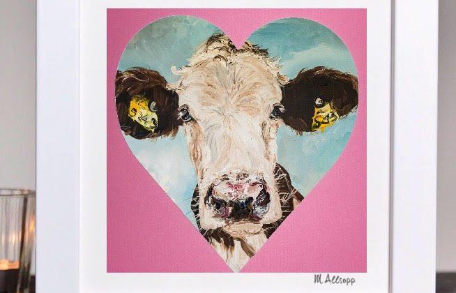 Print – Valentine Daisy