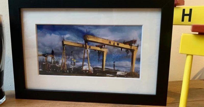 Harland & Wolff Skyline Print